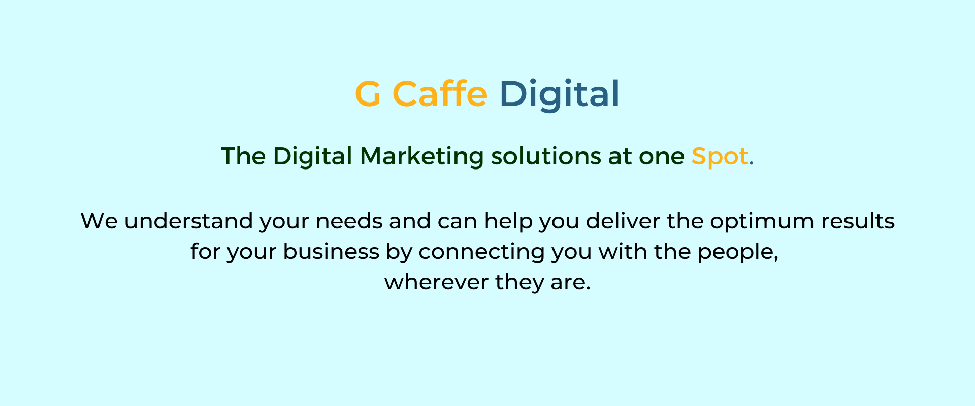 Digital Marketing Services and solutions